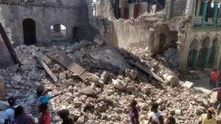 हैती, भूकंप