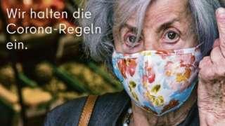 Berlin coronavirus advert