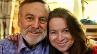 Dr Rachel with her dad Mark Randall
