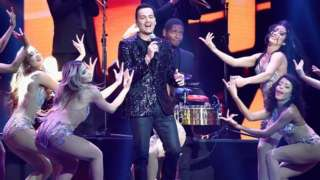 Victor Manuelle performs onstage at the 2018 Billboard Latin Music Awards at the Mandalay Bay Events Center on 26 April 2018 in Las Vegas, Nevada