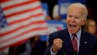 Biden adalah pembicara publik yang cakap dan bersemangat, tetapi terkadang mengucapkan kalimat yang salah