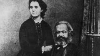 Karl Marx và Jenny Caroline Marx