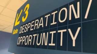 Departures exhibition