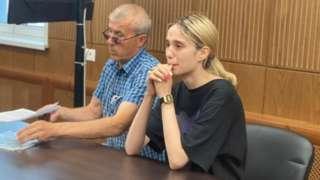 Валерия Башкирова в суде
