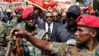 Dem dey do funerals for Ethiopia
