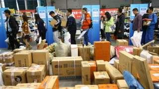 Хитойнинг Нанжинг шаҳридаги шоппинг фестивал