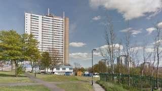 Cruddas Park flats