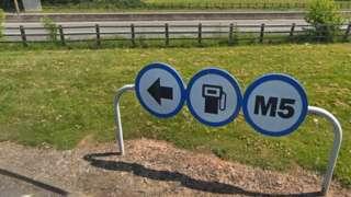 M5 Services entrance