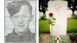 L/Cpl Loney and his unmarked grave