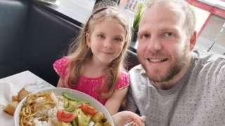 Daniel and daughter Luna