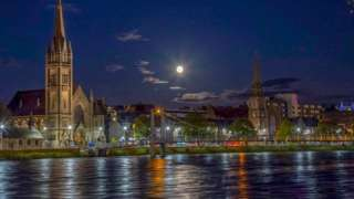 Inverness riverside