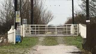 Ivy Farm level crossing