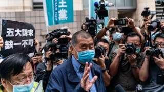 """Jimmy Lai nói """"giới lãnh đạo ghét tôi"""" và ông sẵn sàng cho việc ngồi tù."""