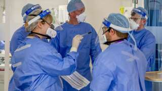 Intensive care workers on Merseyside