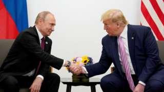 미국 도널드 트럼프 대통령은 과거에도 러시아의 G7 복귀를 지지한 바 있다