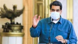 Venezuela Devlet Başkanı Nicolás Maduro