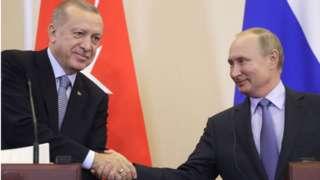 Erdogan ve Putin