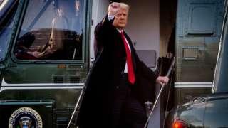 Trump, Joe Biden'ın yemin törenine katılmayarak Florida'daki konutuna geçmişti