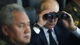Путин и Шойгу