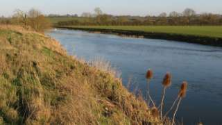 River Great Ouse heading for Olney