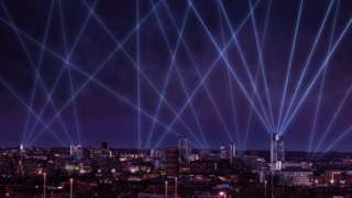 Leeds laser lights