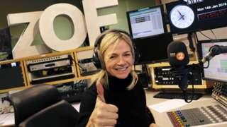 Zoe Ball on Radio 2