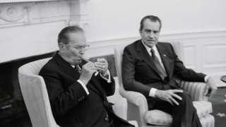 Тито и Ричард Никсон