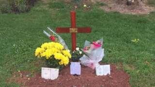 Margaret Keane's grave