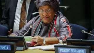 Ellen Johnson Sirleaf yabaye umukuru w'igihugu wa Liberia kuva mu 2006 gushika 2018