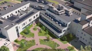 RUH Dyson cancer centre (artist's impression)