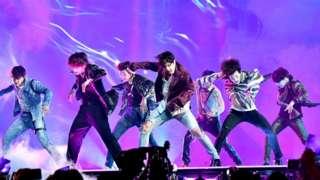 BTS在美国拉斯维加斯演出(20/5/2018)