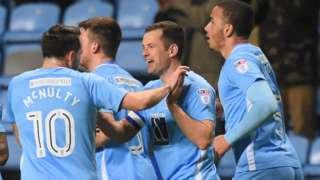Coventry celebrate goal