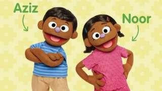 Noor and Aziz muppets