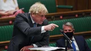 Борис Джонсон в Палате общин