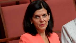 Julia Banks in parliament in 2019