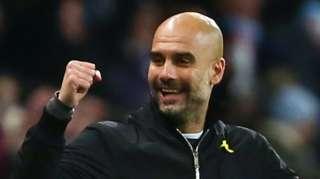 Man City manager Pep Guardiola