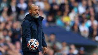 Tottenham Hotspur head coach Nuno Espirito Santo