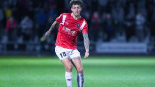 Salford City's Danny Whitehead