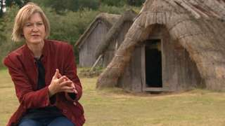 Archaeologist Helen Geake at West Stow Anglo-Saxon Village