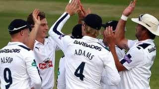Hampshire celebrate