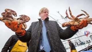 Boris Johnson in Scotland