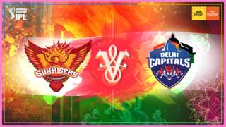 Sunrisers Hyderabad v Delhi Capitals