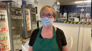 Cafe owner Diane Cheshire