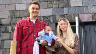 Levi Voyzey, Elijah, and Rosie Tait