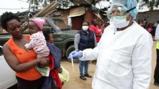 Vipimo vya coronavirus Afrika Kusini