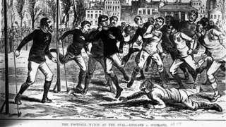 England v Scotland 1878