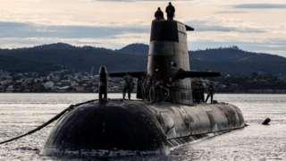Avustralya'nın HMAS Sheean denizaltısı