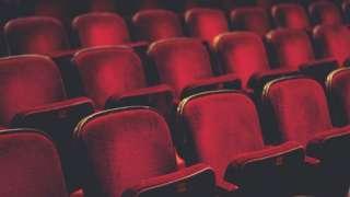 Empty seats in theatre
