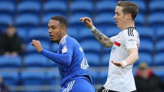 Kenneth Zohore scores for Cardiff