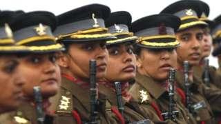 भारतीय सेना में महिला
